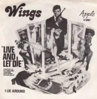 Live And Let Die single artwork – Wings