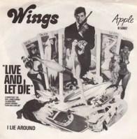 Live And Let Die single artwork - Wings