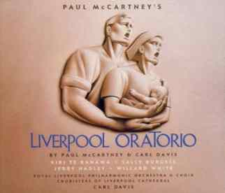 Liverpool Oratorio album artwork - Paul McCartney