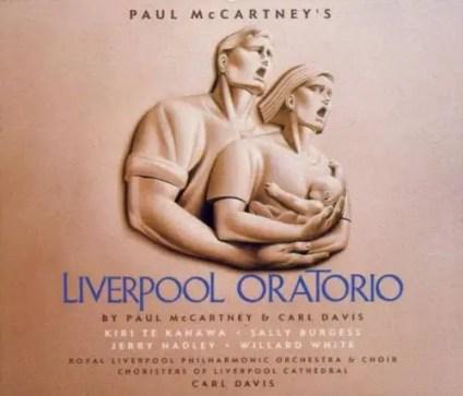 Liverpool Oratorio album artwork - Paul McCartney