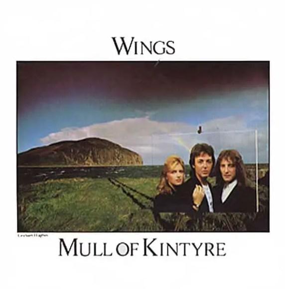 Mull Of Kintyre single artwork - Wings
