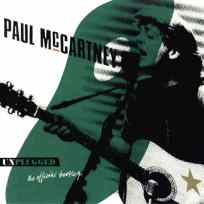 Unplugged (The Official Bootleg) album artwork - Paul McCartney
