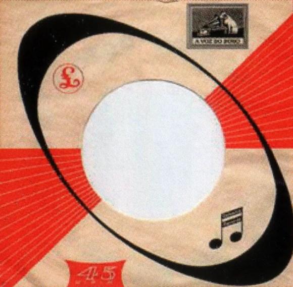 Odeon single sleeve, 1966-67 - Portugal