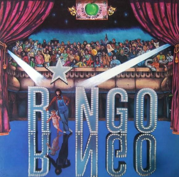 Ringo Starr: cover artwork for Ringo album (1973)
