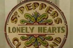 Sgt Pepper's Lonely Hearts Club Band drum head