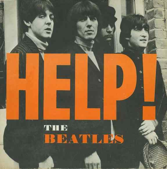 Help! single artwork - Sweden