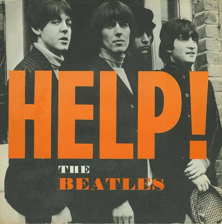 Help! single artwork – Sweden