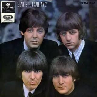 Beatles For Sale No 2 EP artwork – United Kingdom