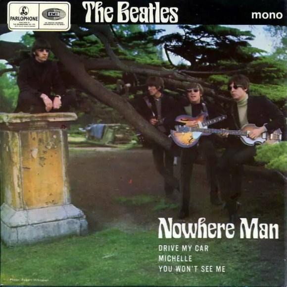 Nowhere Man EP artwork - United Kingdom