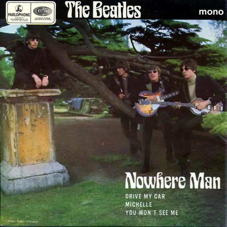 Nowhere Man EP artwork – United Kingdom