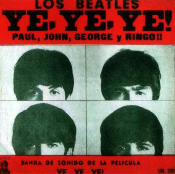 Ye, Ye, Ye! Paul, John, George y Ringo! (A Hard Day's Night) album artwork - Uruguay