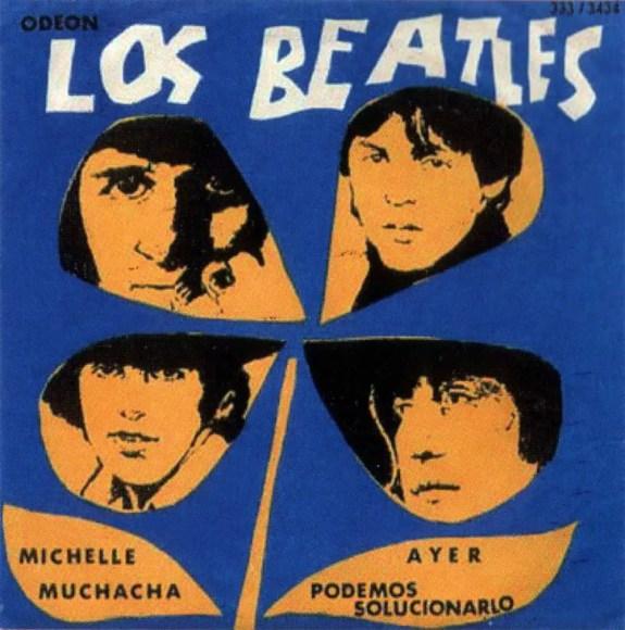 Los Beatles EP artwork - Uruguay