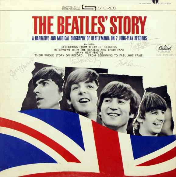 The Beatles' Story album artwork - USA