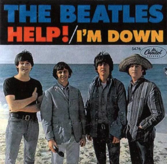Help! single artwork - USA
