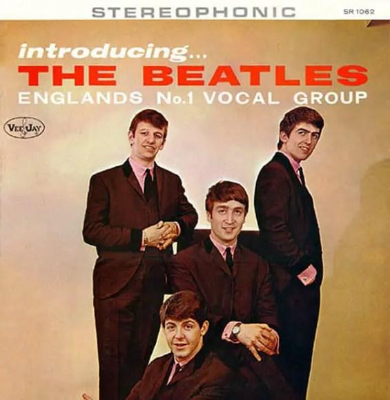 Introducing The Beatles album artwork – USA