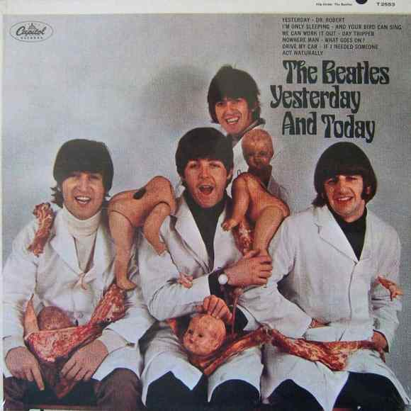 Yesterday And Today album artwork (butcher cover) – USA