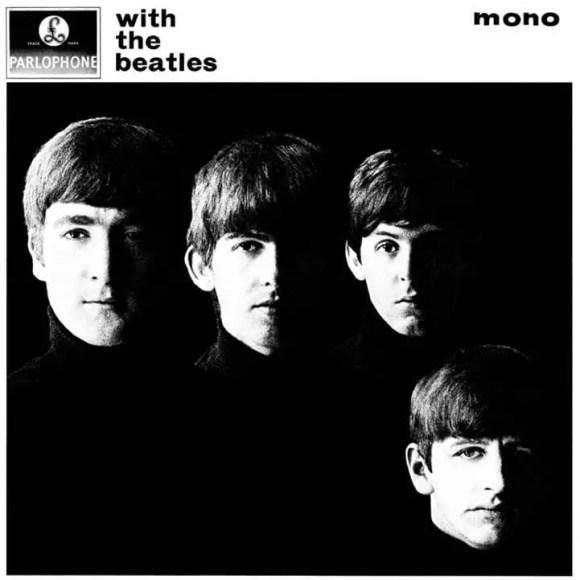 With The Beatles album artwork