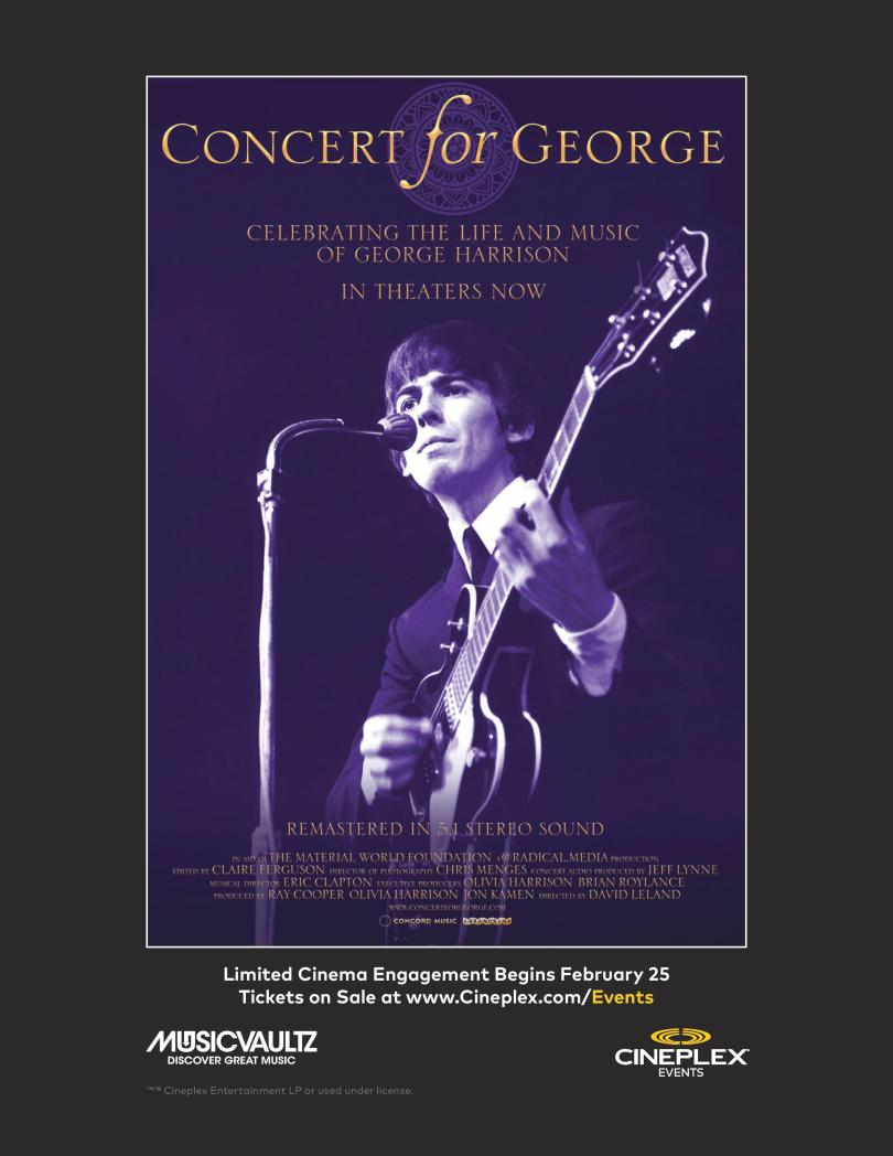 Concours Concert For George
