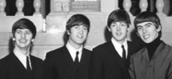 The Beatles in order of oldest to youngest