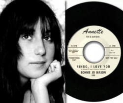 Bonnie Jo Mason/Cher Bono - Ringo, I Love You 45 Single