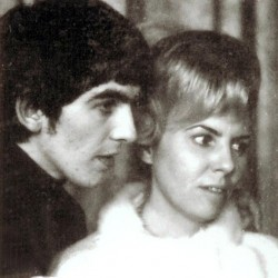 George Harrison and his older sister Louise Harrison