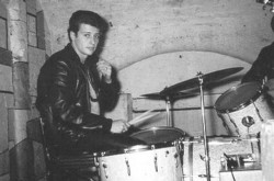 Pete Best in the Cavern drumming for The Beatles