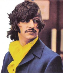 Ringo Starr from the Beatles White Album poster