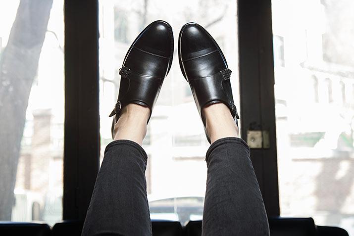 June female monkstrap by Beatnik Shoes