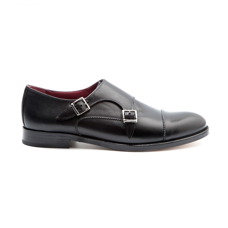 June black doble hebilla por Beatnik Shoes