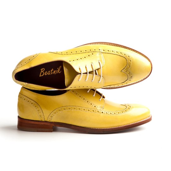 Derby mostaza by Beatnik Shoes