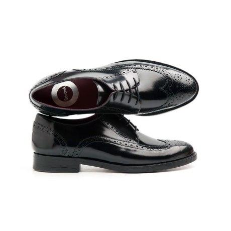 Ethel All Black female Derby Shoes