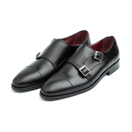 two buckles black shoes for men Beatnik