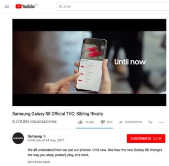 Beatnik Shoes into the commercial of Samsung Galaxy S8