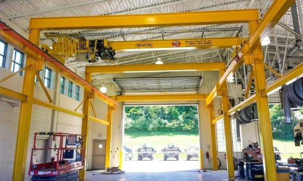 Bridge Crane NY Armory