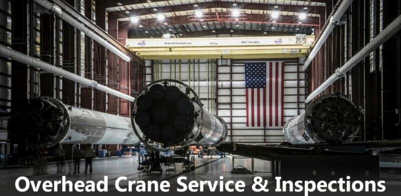 NY overhead crane service inspections