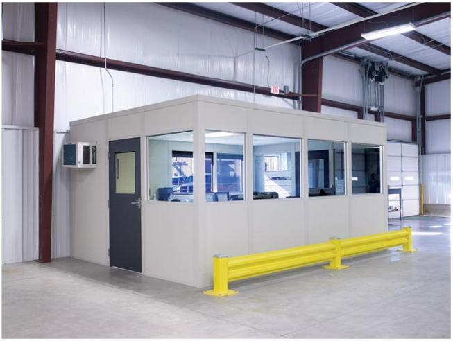 Starrco Inplant Office Security Check Point - Modular Office