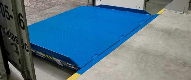 Vertical Loading Dock Leveler Brochure Blue Giant VL Series
