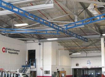 Tether Track - Ceiling Mounted Monorail Systems