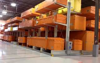 Moveable Cantilever Racking