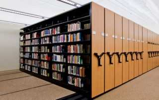 Library Mobile Shelving