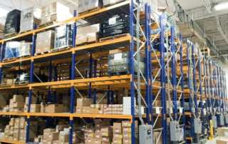 Movable Industrial Shelving