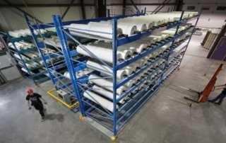 High Density Roll Storage