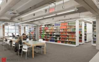 University Mobile Library Shelving