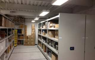 VA Medical Center Storage Room Shelving