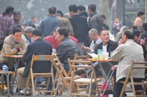 © Beatrice Otto Shanghai Fuxing Park relaxing over tea