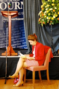 Appledore Book Festival Beatrice Otto