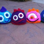 Monster Mash…Crochet Monster Hats!!!