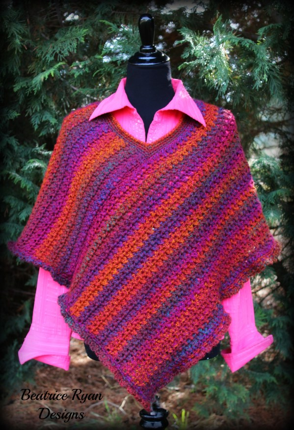 Effortless Poncho Free Pattern