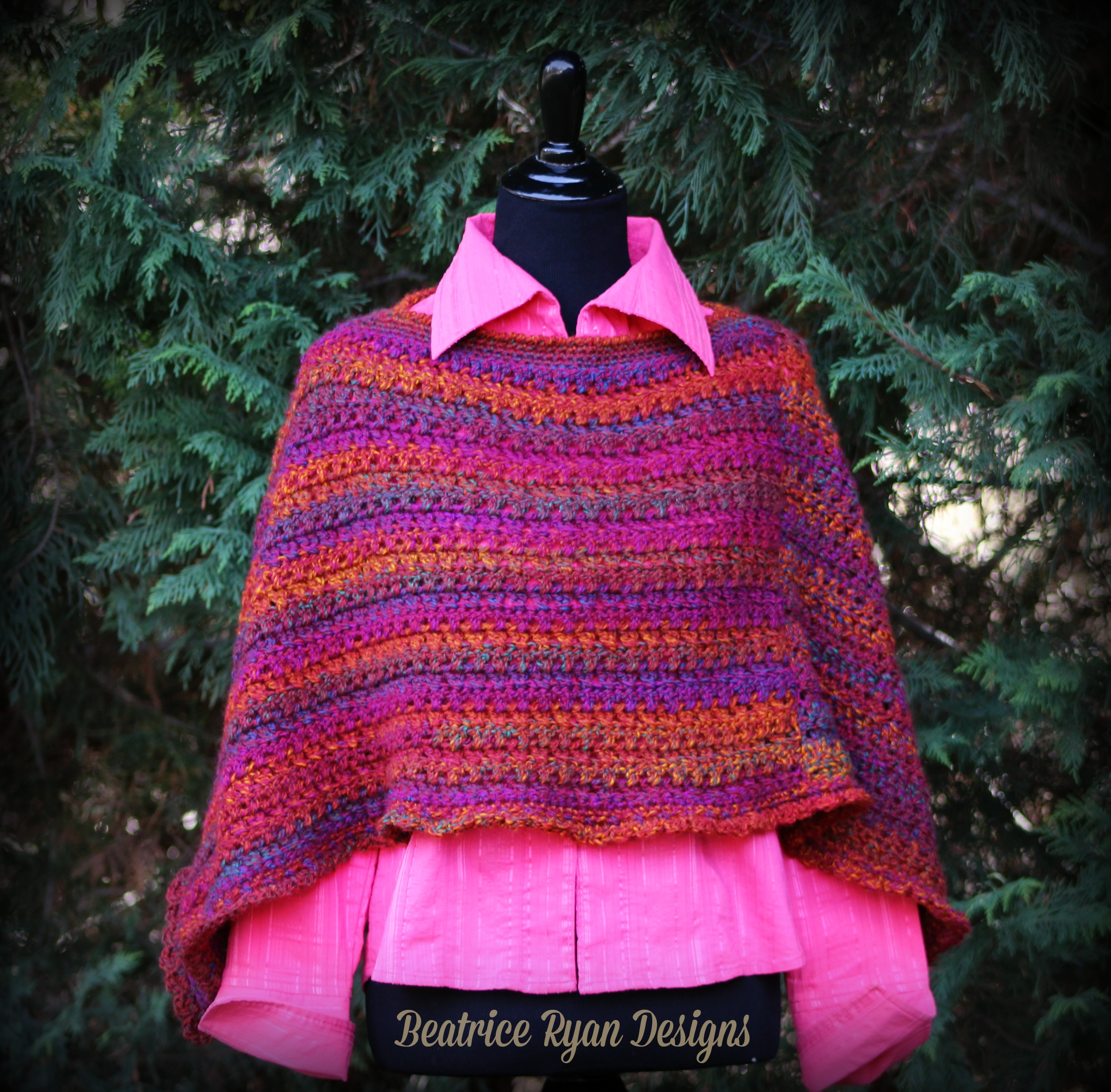 Effortless chic poncho free crochet pattern you now have your own effortless chic poncho effortless poncho free crochet pattern bankloansurffo Choice Image