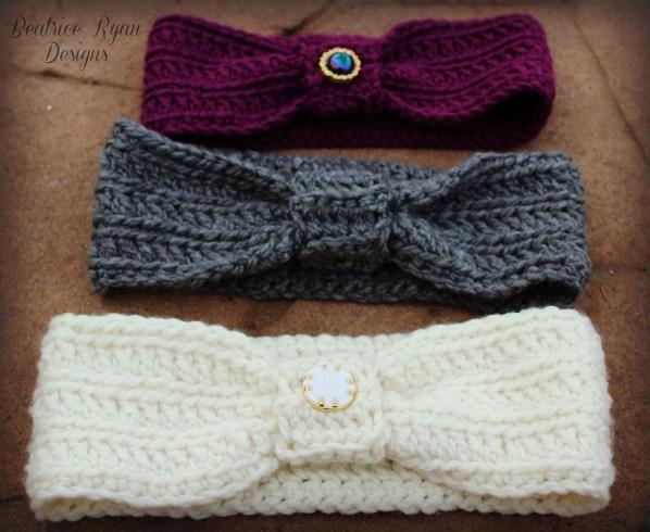 Wintertide Headbands Free Pattern